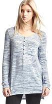 Gap Softspun knit pocket henley