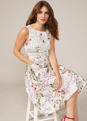 Phase Eight Wilhemina Cotton Fit & Flare Dress