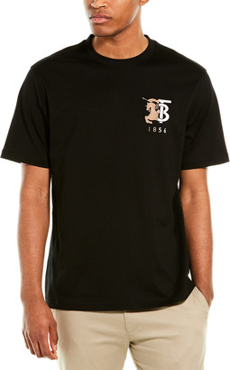 Burberry Contrast Logo Graphic Cotton T-Shirt