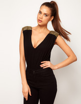Asos Body with Stud Shoulders
