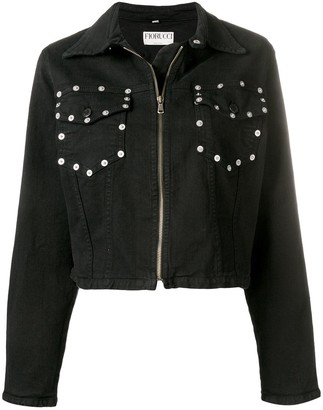 Fiorucci Popper Pocket Denim Jacket