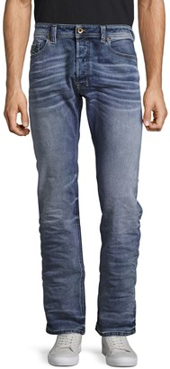 Diesel Safado Faded Whiskered Jeans