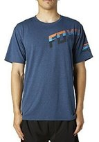 Fox Racing Mens Turf Tech Short-Sleeve Shirt Heather Electric