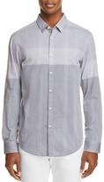 BOSS GREEN Bertillo Ombré Plaid Slim Fit Button-Down Shirt