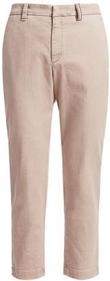 Brunello Cucinelli Garment Dyed Straight Leg Jeans