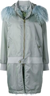 Mr & Mrs Italy waterproof zipped coat