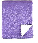 Tadpoles Quilted Nylon Puffer Baby Blanket, Grape by