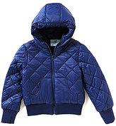 Class Club Big Boys 8-20 Quilted Bomber Fleece jacket
