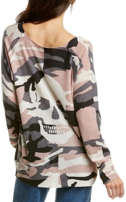 360 Cashmere Scout Camo Cashmere Sweater
