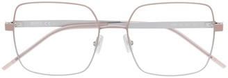 HUGO BOSS Square-Frame Tinted Glasses