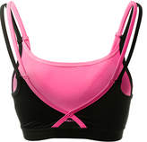 Therapy Black & Pink Layered Bralette
