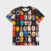Paul Smith Boys' 2-6 Years Brown Cycling Caps Print 'Moe' T-Shirt