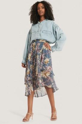 NA-KD Flowy Midi Elastic Skirt