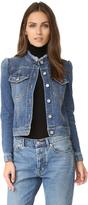 Rebecca Taylor Stretch Denim Jacket