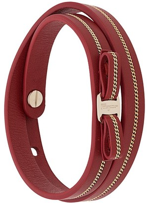 Salvatore Ferragamo Chain-Embellished Bracelet