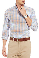 Daniel Cremieux Signature Long-Sleeve Heather Check Woven Shirt