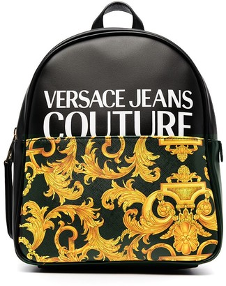 Versace Jeans Couture Barocco-print backpack