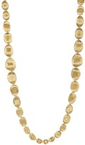 """Marco Bicego 18K Yellow Gold Lunaria Double Weave Necklace, 39.25"""""""