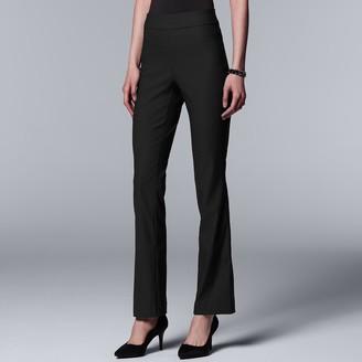 Vera Wang Women's Simply Vera Ultra Stretch Bootcut Pants