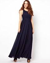 French Connection Full Skirted Maxi Dress
