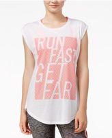 Energie Active Juniors' Alessia Mesh-Contrast T-Shirt