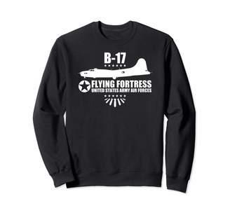 B17 Flying Fortress & Ww2 Bomber Gifts B-17 Flying Fortress Sweatshirt
