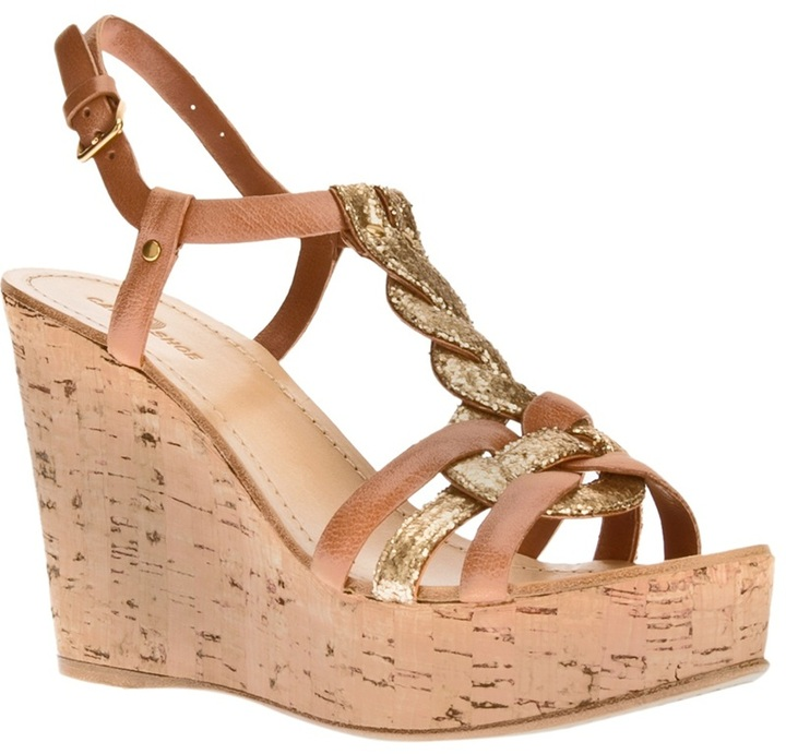 Car Shoe 'Antic Lux' sandal wedge