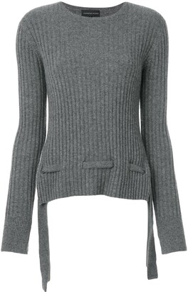 Cashmere In Love Cashmere Belted Sweater