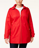 MICHAEL Michael Kors Size Hooded Raincoat