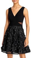 Thumbnail for your product : Aqua Floral-Applique Fit-and-Flare Dress - 100% Exclusive