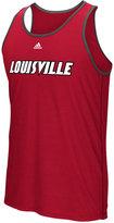 adidas Men's Louisville Cardinals Team Font Ultimate Ringer Tank