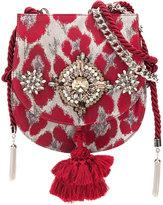 Christian Pellizzari crystal embellished shoulder bag
