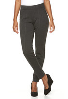 Croft & Barrow Women's Pull-On Skinny Ponte Pants