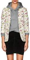 Faith Connexion Women's Floral Denim Blazer Jacket