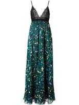 Valentino printed skirt evening dress
