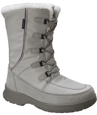 Freeshield Womens Waterproof Nylon Upper Winter Boot with Suede Trim