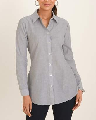 Chico's Chicos Striped Button-Down Shirt