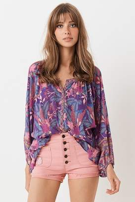 Spell Bianca Blouse In Wisteria