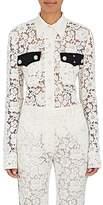 Calvin Klein Women's Lace Collared Blouse