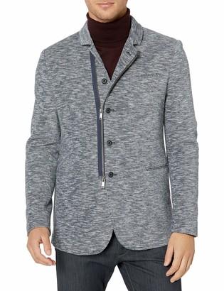John Varvatos Men's Daryl Double Knit Soft Jacket Blazer
