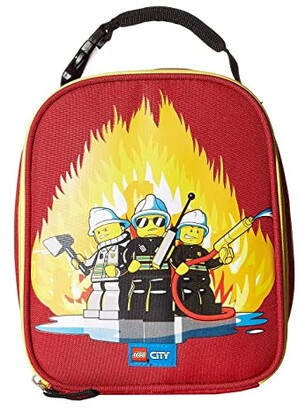 Lego City Fire Lunch Bag (Red) Duffel Bags