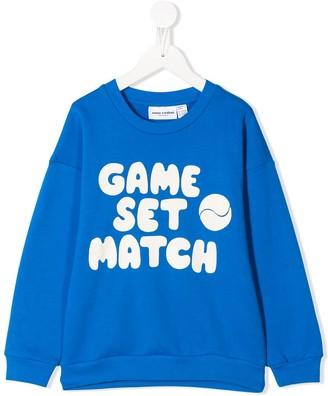 Mini Rodini Game Set Match Print Sweatshirt