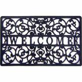 Asstd National Brand Welcome Cutout Rectangular Doormat - 18X30