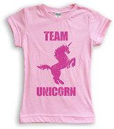 Urban Smalls Light Pink 'Team Unicorn' Tee - Toddler & Girls