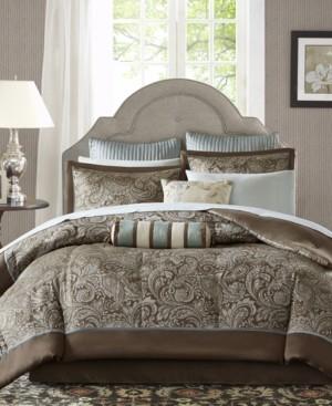 Madison Home USA Adeline 12-Pc. Queen Comforter Set Bedding
