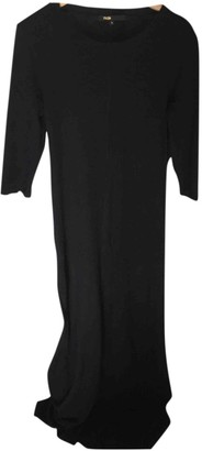 Maje Black Wool Dresses