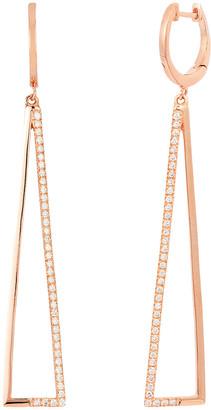 LeVian Le Vian 14K Rose Gold 0.29 Ct. Tw. Diamond Earrings