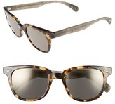 Oliver Peoples 'Masek' 51mm Retro Sunglasses