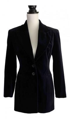 Karen Millen Navy Cotton Jacket for Women
