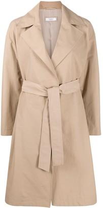 Peserico Belted Wrap-Style Coat